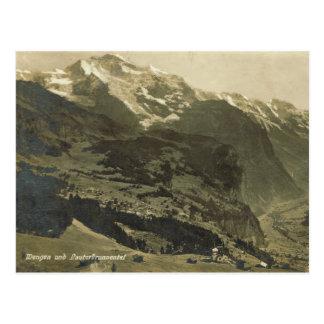 Wengen and the Lauterbrunnental Postcard