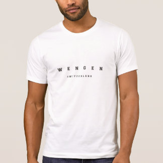 Wengen Switzerland T-Shirt