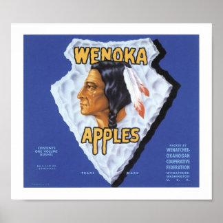 Wenoka Apples Posters