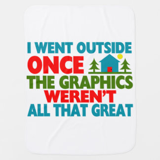 Went Outside Graphics Weren't Great Buggy Blankets