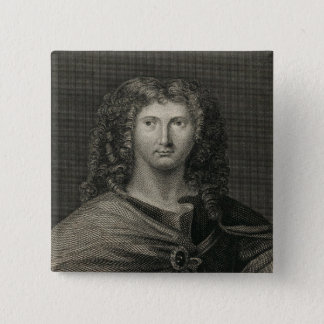 Wentworth Dillon, 4th Earl of Roscommon 15 Cm Square Badge