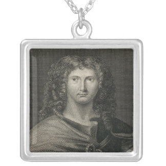Wentworth Dillon, 4th Earl of Roscommon Silver Plated Necklace