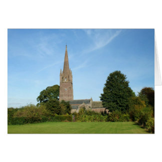 Weobley Church Card