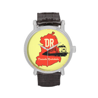 Werbedesign Deutsche Reichsbahn DDR Handuhr