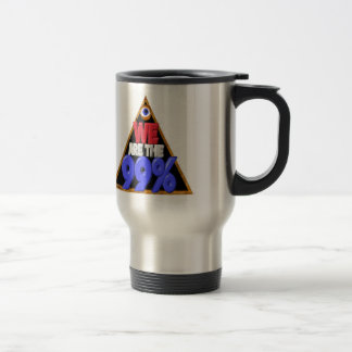 We're 99% Occupy wall street protest travel mug