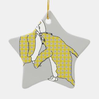 We're A Yellow Pair Christmas Ornament
