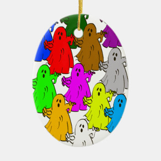 We're all different christmas ornament