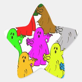 We're all different star sticker