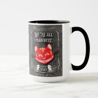"""We're All Mad Here"" Cheshire Cat Mug"