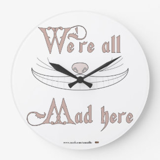 We're All Mad Here Clock