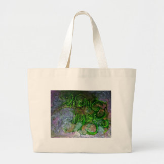 """""""We're All Mad Here"""" Large Tote Bag"""