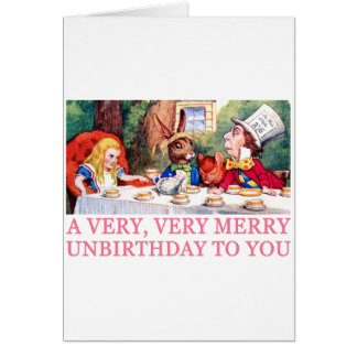 WE'RE ALL QUITE MAD, YOU'LL FIT RIGHT IN! CARD