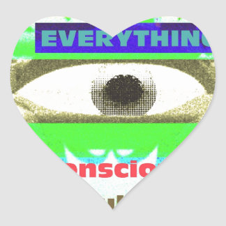 We're conditioned by everything co & subco heart sticker