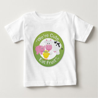 We're Cute, Eat Fruit T Shirt