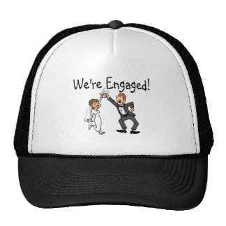 We're Engaged Trucker Hat