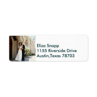 We're Getting Married!.. Return Address Label