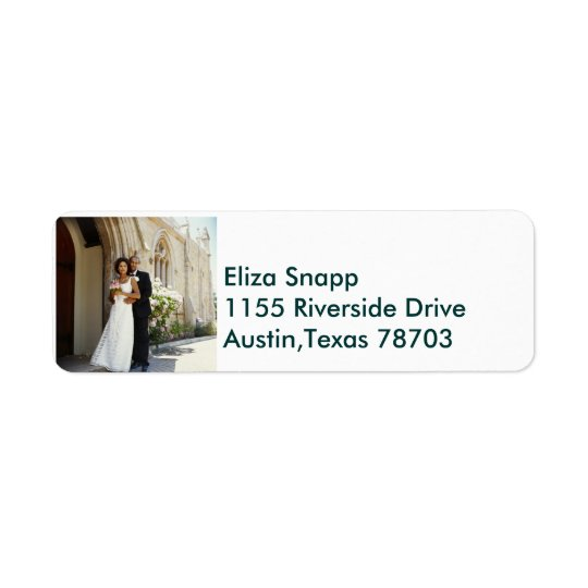 We're Getting Married!.. Return Address Label