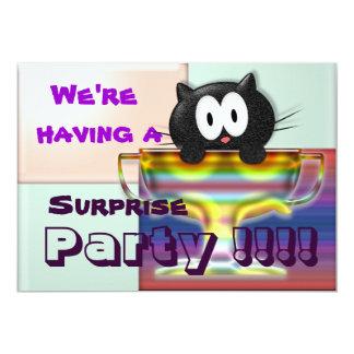 We're having a  Party !!!! 13 Cm X 18 Cm Invitation Card
