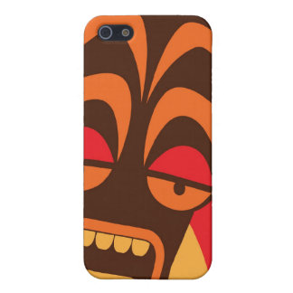 We're having a party TIKI SCREAM mask iPhone 5 Covers