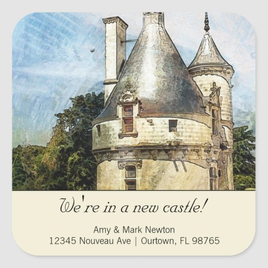 We're in a New Castle Custom New Address