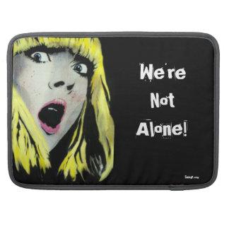 'We're Not Alone' MacBook Pro Flap Sleeve MacBook Pro Sleeves
