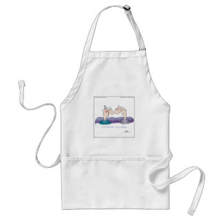 WE'RE NOT OLD... by April McCallum Standard Apron