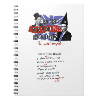 we're xxxxing Britain, I'm with stupid Notebook