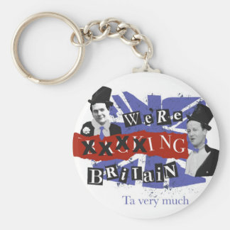 We're xxxxing Britain, ta very much Key Ring