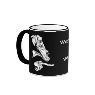 Were You There When It Went Down? Ringer Mug