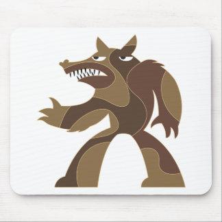 Werewolf Art Mouse Pads