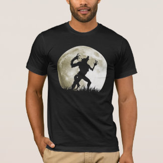 Werewolf at the Full Moon - Cool Halloween T-Shirt