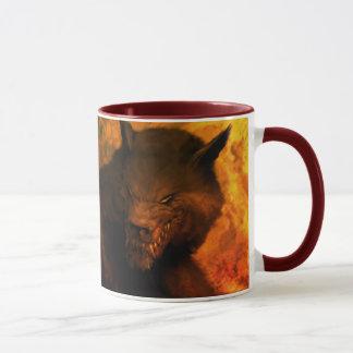 Werewolf bust Mugs