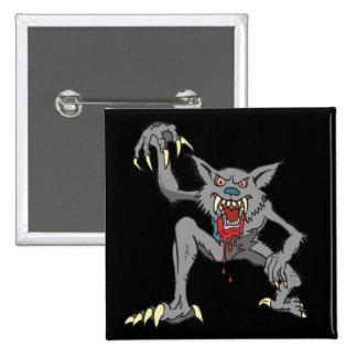 Werewolf Button Pinback Button