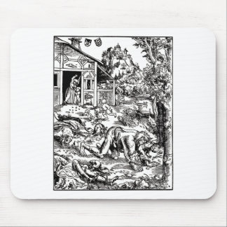 werewolf-clipart-8 mouse pad