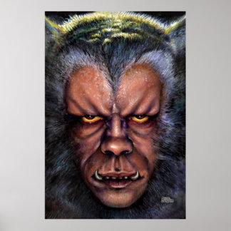 Werewolf Curse Poster
