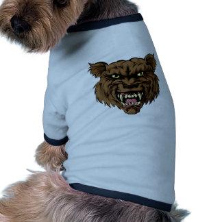 Werewolf Ringer Dog Shirt