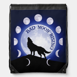 Werewolf Drawstring Bag