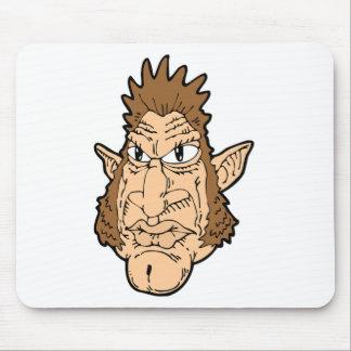 Werewolf Face Mousepads