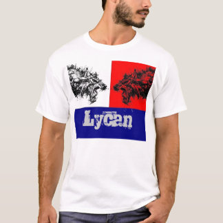 Werewolf Flag Lycan Clan T-Shirt