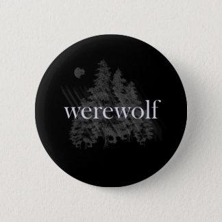 Werewolf Forest 6 Cm Round Badge