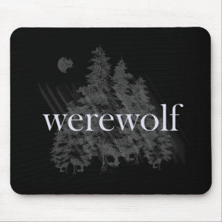 Werewolf Forest Mouse Pad