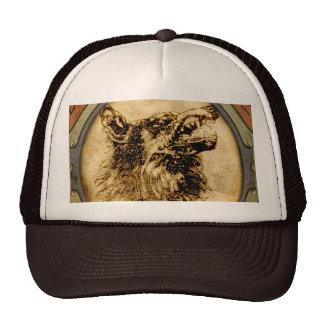 Werewolf Fur Mesh Hats