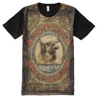 Werewolf Fur All-Over Print T-Shirt
