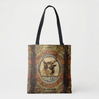 Werewolf Fur Tote Bag