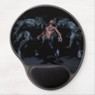 Werewolf gel mouse pad