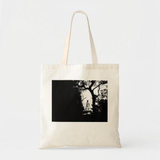 Werewolf in Forest Tote