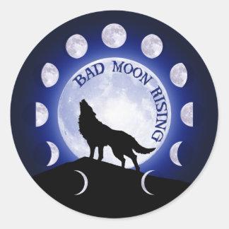 Werewolf Moon phase Sticker