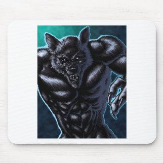 werewolf mouse pad