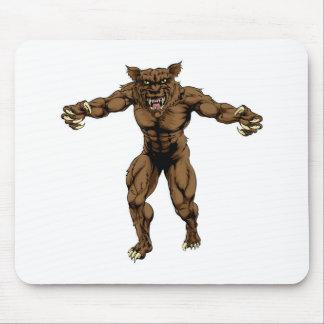 Werewolf Mouse Mats