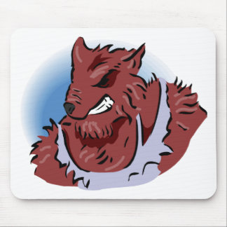 Werewolf Revenge Mousepad